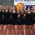 TWO YEARS SWINGING: GIRLS TENNIS CHAMPS AGAIN