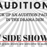 'SIDE SHOW' AUDITIONS NOV 27-28