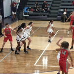 JV GIRLS BASKETBALL DEFEATS FORT OSAGE
