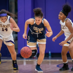 GIRLS BASKETBALL KEEPS IT CLOSE AGAINST WILLIAM CHRISMAN