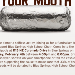 CHOIR FUNDRAISER: CHIPOTLE NIGHT TONIGHT (2/4) 4:00PM – 8:00PM