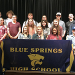 20 BSHS STUDENT-ATHLETES SIGN NATIONAL LETTER OF INTENT