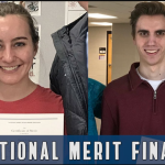 ELIZABETH LEE AND ETHAN SMITH NAMED NATIONAL MERIT FINALISTS