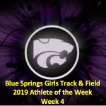 GIRLS TRACK/FIELD AOTW: WEEK 4