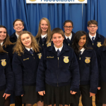 FFA EXCELS AT DISTRICTS
