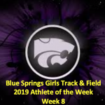 GIRLS TRACK/FIELD AOTW: WEEK 8