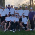 BOYS GOLF STAYS IN THE GREEN