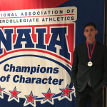 GABE MCCLAIN NAMED NAIA CHAMPION OF CHARACTER
