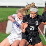 GIRLS SOCCER FINISHES SEASON IN PLAYOFFS
