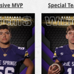 WEEK 1 FOOTBALL AWARD WINNERS