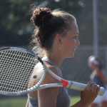 GIRLS TENNIS PICKS UP FIRST TEAM WIN OF SEASON