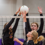 VOLLEYBALL LOSES TO PARK HILL
