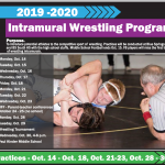 BSSD INTRAMURAL WRESTLING INFORMATION
