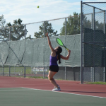 BEHIND THE RACKET – GIRLS TENNIS CAMPUS CRIER STORY