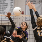 VOLLEYBALL SWEEPS RAY-PEC