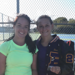 WALTERS AND BROWN GO 1-2 AT SINGLES DISTRICTS