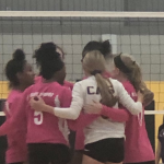 VOLLEYBALL DOMINATES ST. MICHAELS