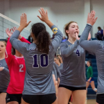 VOLLEYBALL DOMINATES TRUMAN TO ADVANCE TO DISTRICT FINALS