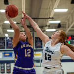 GIRLS BASKETBALL FALLS TO LEE'S SUMMIT WEST