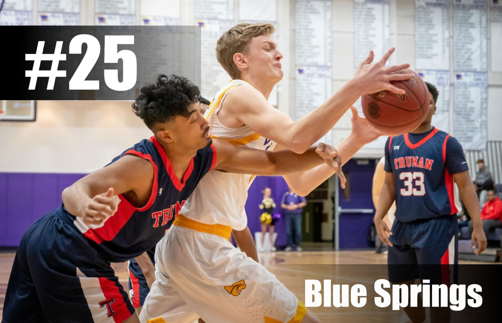 BOYS BASKETBALL RANKED 25TH IN INITIAL 810 VARSITY POLL