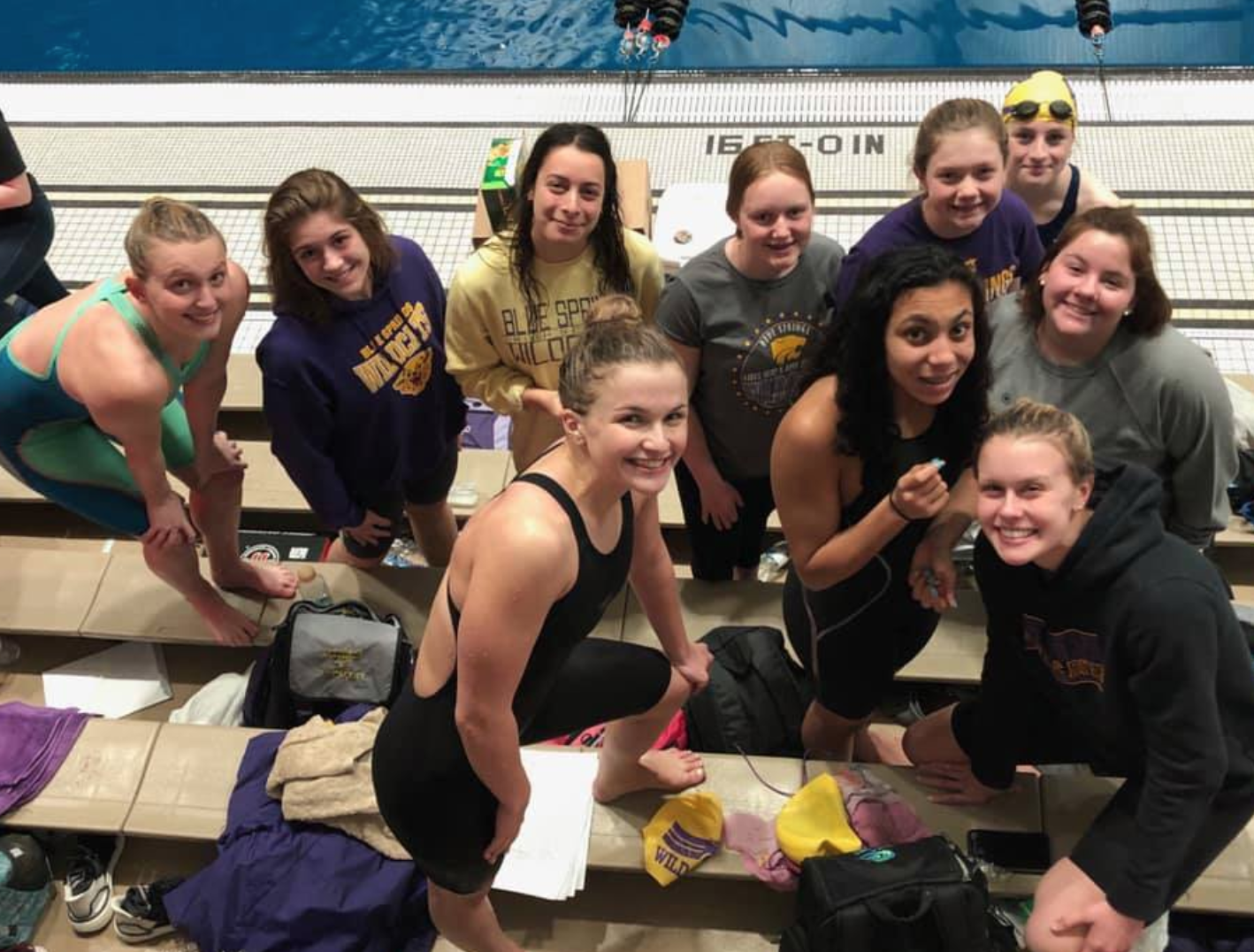 GIRLS SWIM/DIVE SWEEPS PLATTE, BELTON AND SMITHVILLE IN CONSECUTIVE DAYS