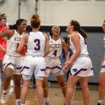 GIRLS BASKETBALL WINS DISTRICT CHAMPIONSHIP
