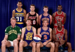 VIDEO OF 1979 ALUM JON SUNDVOLD COMPETING IN THE NBA 3-POINT CONTEST