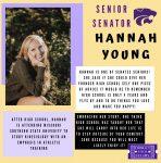 SENATE SENIOR SPOTLIGHT: HANNAH YOUNG