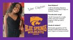 CHOIR SENIOR SPOTLIGHT: TYLER CLAYTON