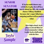 SENATE SENIOR SPOTLIGHT: JAYLA SAMPLE