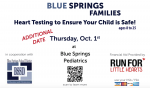 BSSD: HEART TESTING (THURSDAY, OCTOBER 1ST)
