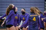 VOLLEYBALL SWEEPS SOUTH
