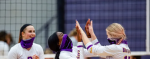GIRLS VARSITY VOLLEYBALL ROLLS INTO DISTRICT FINAL