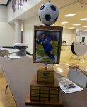 MICAH LUBIN WINS THE SOCCER TEAM'S WILDCAT AWARD