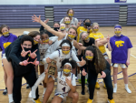 GIRLS BASKETBALL WINS DISTRICT TITLE