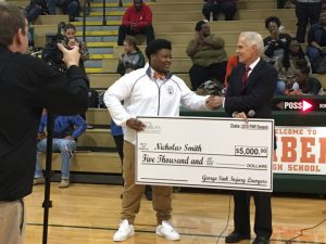 Nicholas Smith Receives $5000 Scholarship