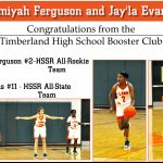 Congratulation Amiyah Ferguson-HSSR-All Rookie & Jay'la Evans- HSSR-All-State Teams