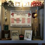 Glenville Boys Track Program Display At OHSAA