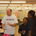 Students Enjoy Breakfast with United Way Services