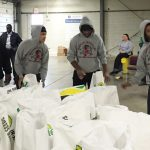 Wrestling Team at The Foodbank