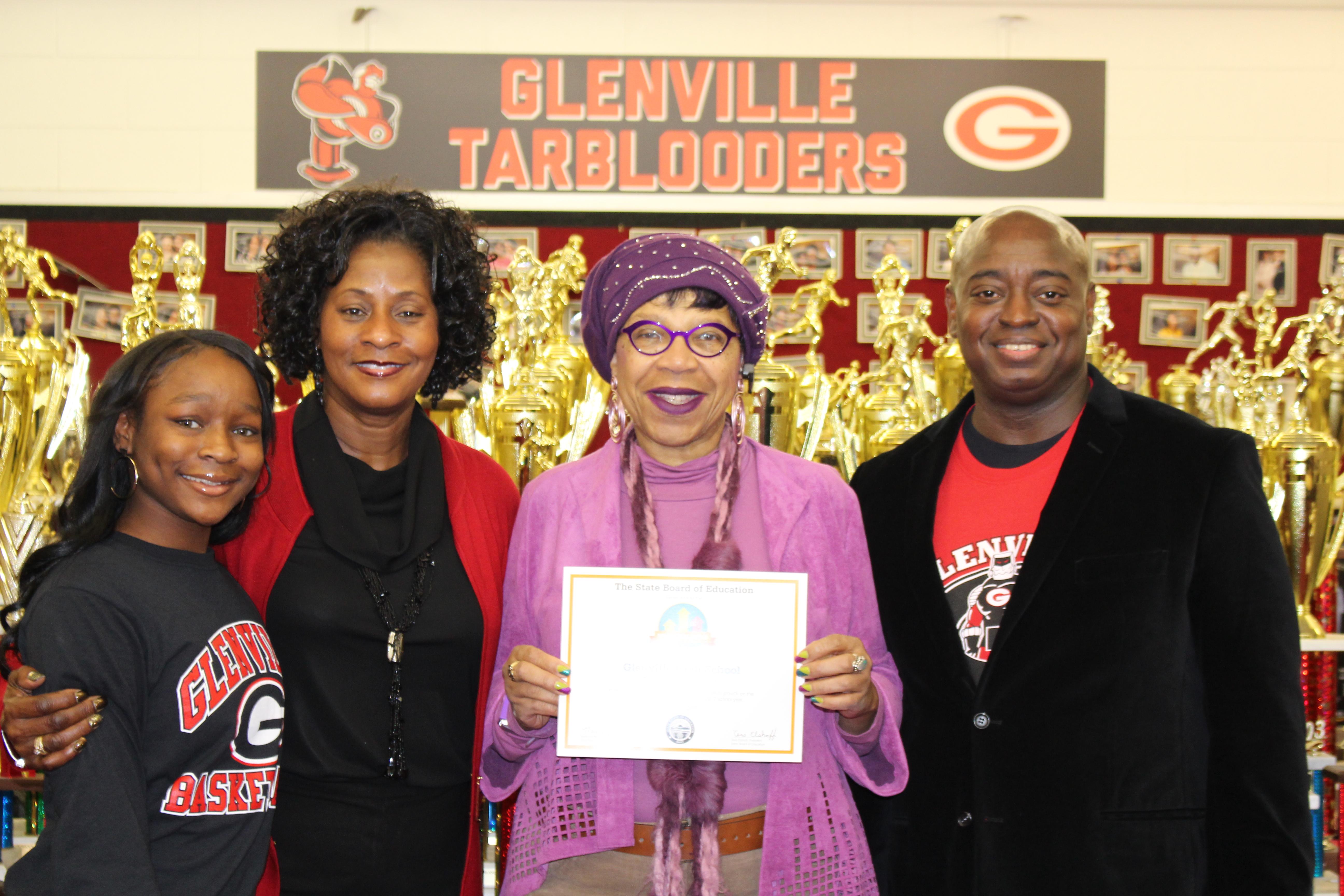 Glenville Wins Momentum Award