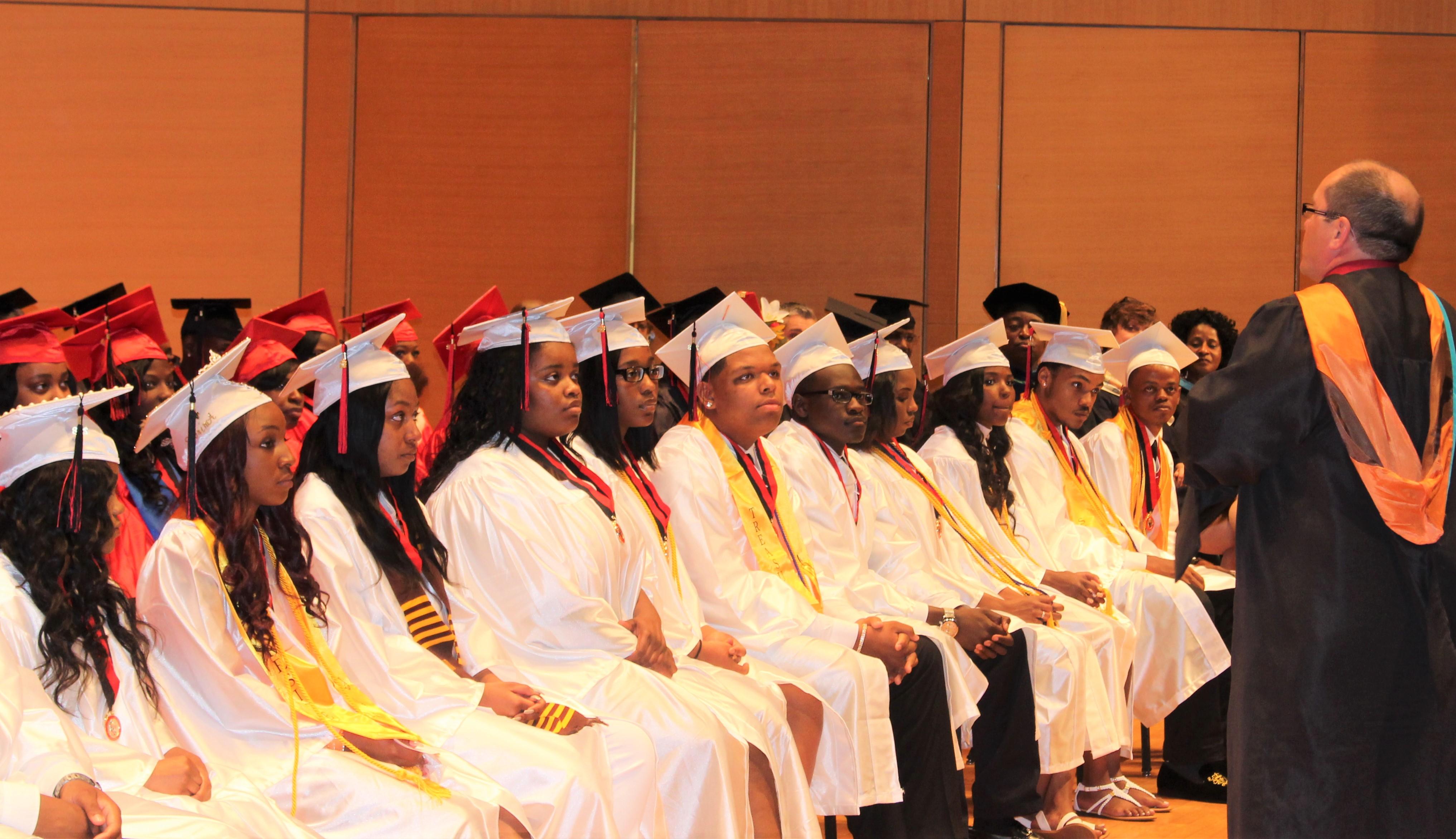 Glenville Holds Graduation At Cleveland State