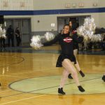 Military Drill and High Steppers Compete