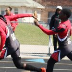 Boys Track Win Five Events at Maralyn West Meet.