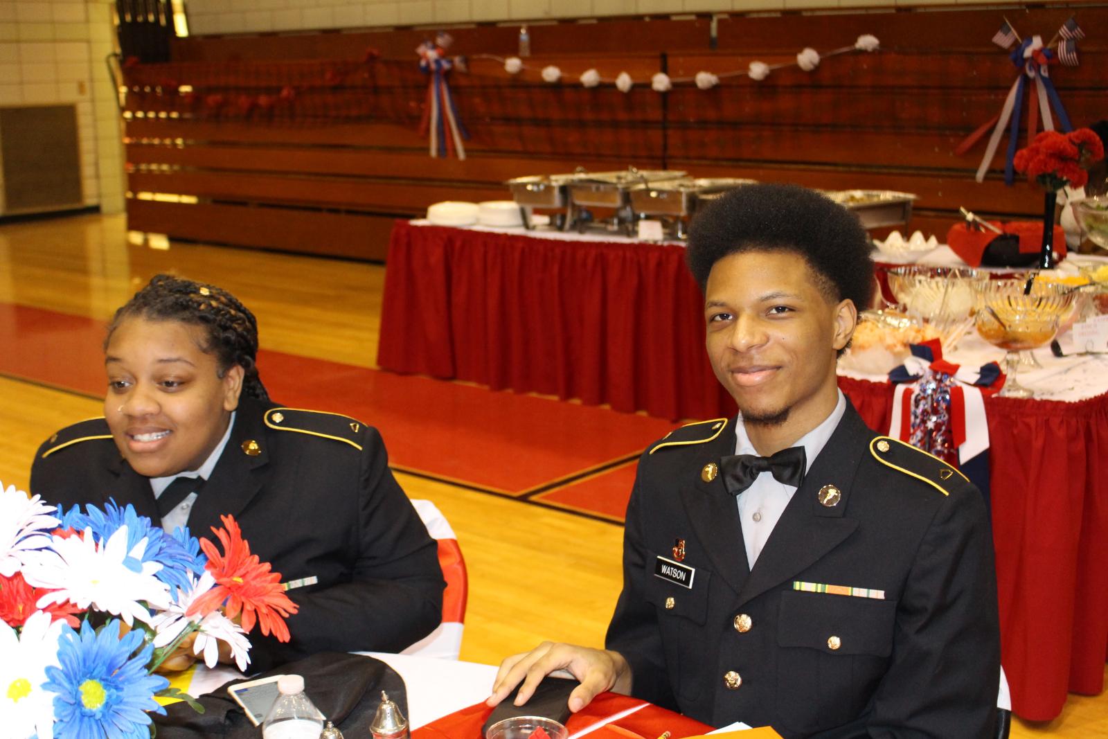 Glenville JROTC Host Military Ball