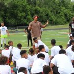 Cleveland Browns Sponsor Football Clinic at Bump Taylor Field
