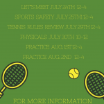 Join the Girls Tennis Team Today