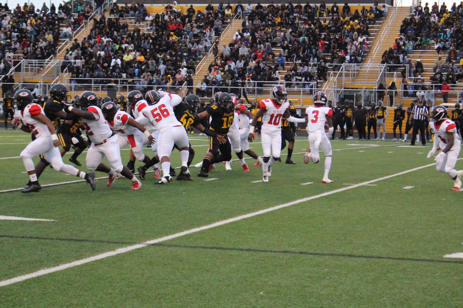 Tarblooders Loose to Cleveland Heights