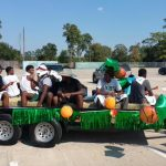 Spring Boys Basketball - 2015 Homecoming Parade