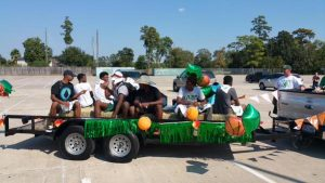Spring Boys Basketball – 2015 Homecoming Parade